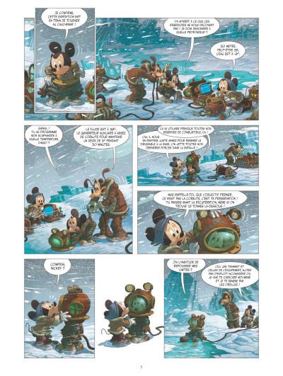 Page 3 Mickey et l'océan perdu
