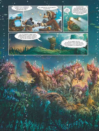 Page 4 Mickey et l'océan perdu
