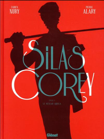 Couverture Silas Corey - intégrale tome 1