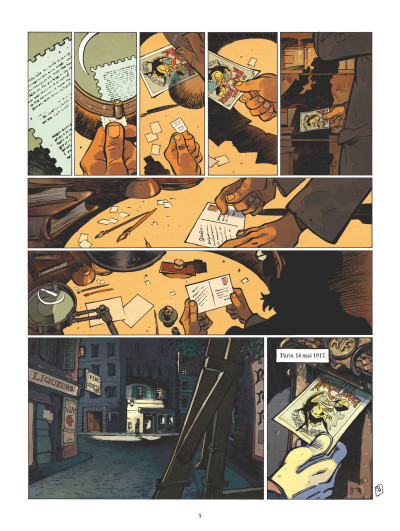 Page 4 Silas Corey - intégrale tome 1