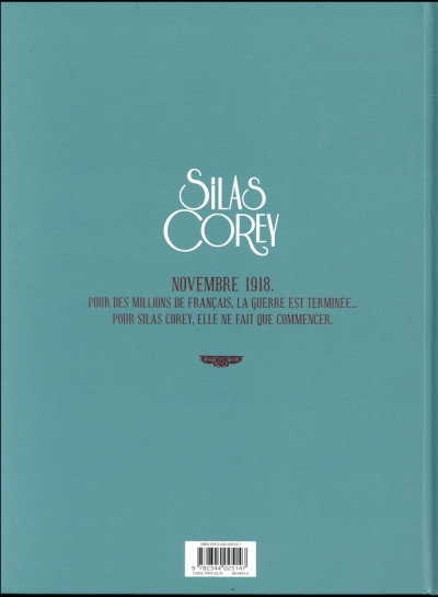 Dos Silas Corey - intégrale tome 2