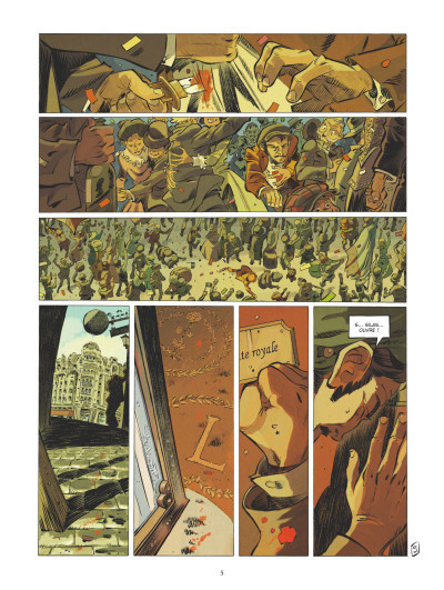 Page 4 Silas Corey - intégrale tome 2