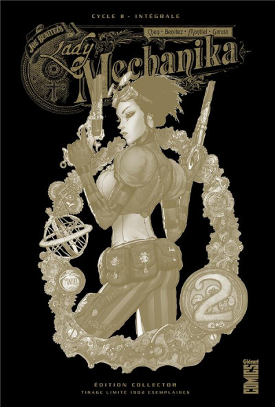 Couverture Lady Mechanika - édition collector tome 2