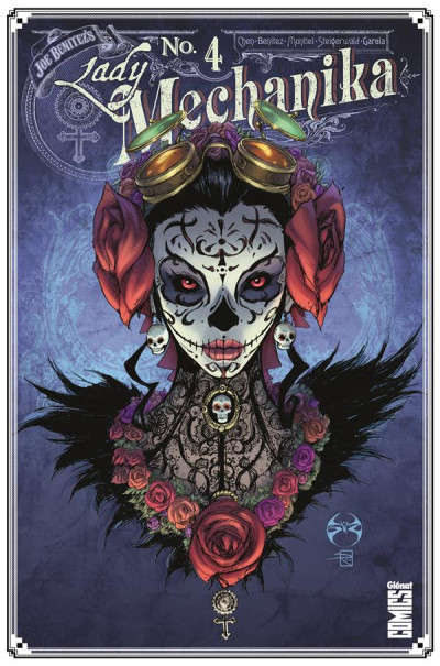 Couverture Lady Mechanika tome 4 (variant)