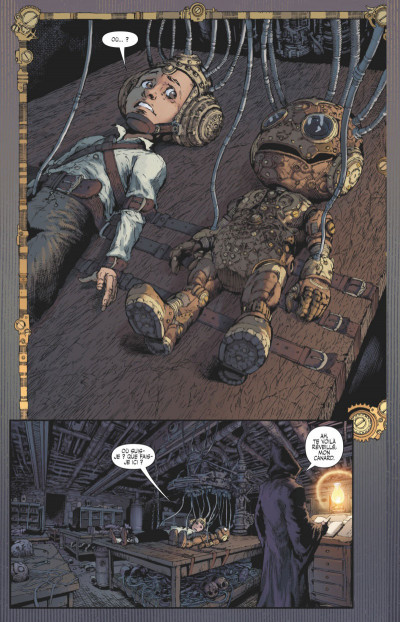 Page 2 Lady Mechanika tome 4 (variant)
