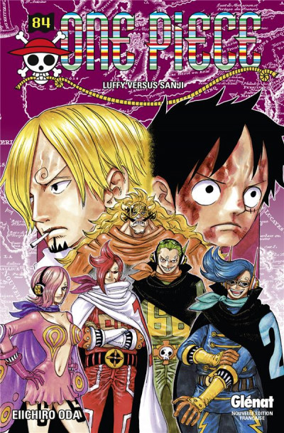 Couverture One Piece tome 84