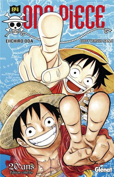 Couverture One Piece tome 84 - édition 20è anniversaire
