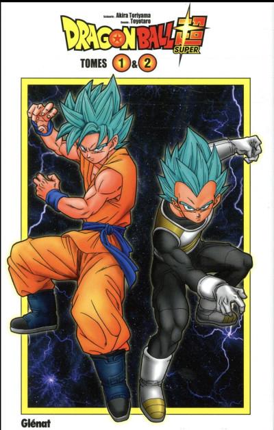 Couverture Dragon Ball Super - coffret tomes 1 et 2