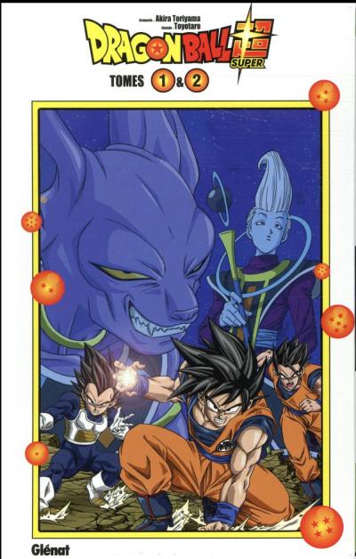 Dos Dragon Ball Super - coffret tomes 1 et 2