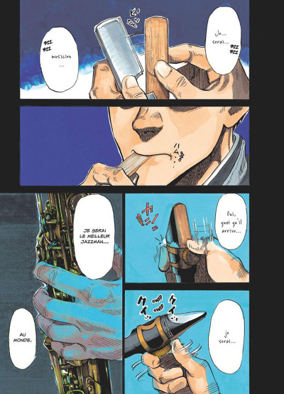 Page 4 Blue giant tome 1