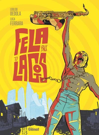 Couverture Fela back to Lagos
