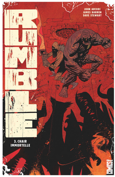 Couverture Rumble tome 3