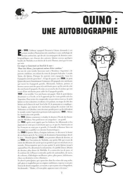 Page 2 Mafalda - intégrale