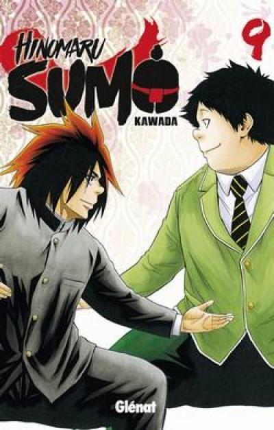 Couverture Hinomaru sumo tome 9