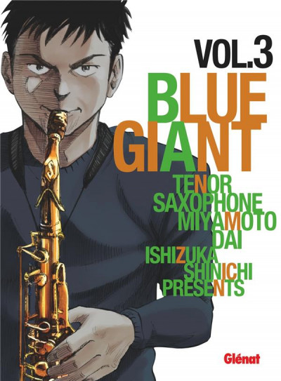Couverture Blue giant tome 3