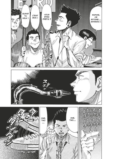 Page 8 Blue giant tome 4