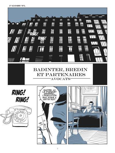 Page 1 L'abolition - le combat de Robert Badinter