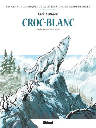 Couverture Croc-blanc en BD