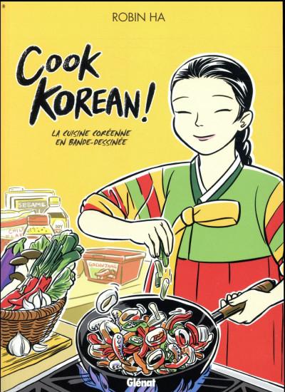 Couverture Cook korean ! - La cuisine coréenne en BD