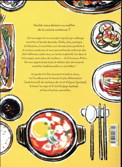 Dos Cook korean ! - La cuisine coréenne en BD