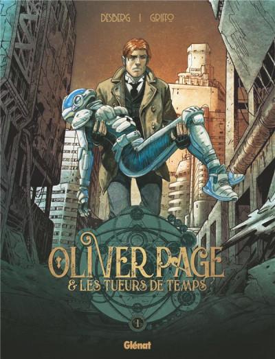 Couverture Oliver Page & les tueurs de temps tome 1
