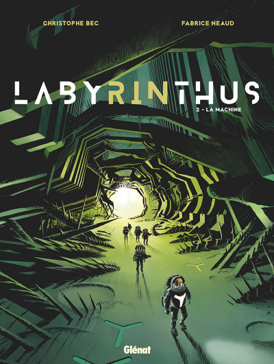 Couverture Labyrinthus tome 2