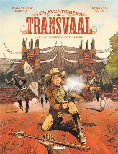 Couverture Les aventuriers du Transvaal tome 2