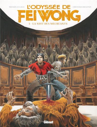 Couverture L'odyssée de Fei Wong tome 3