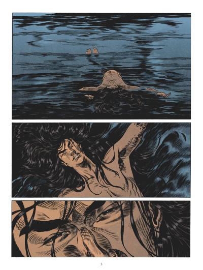 Page 2 L'odyssée de Fei Wong tome 3