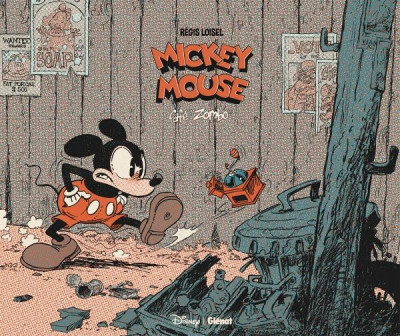 Couverture Mickey Mouse - Café zombo - luxe