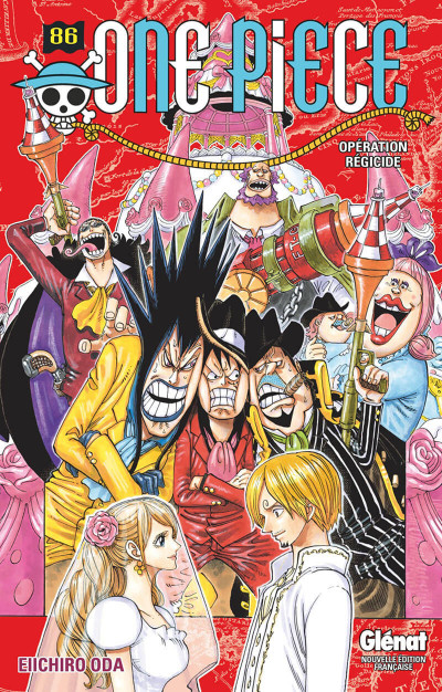 Couverture One Piece tome 86