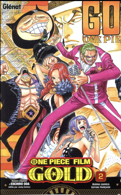 Couverture One piece - Gold tome 2