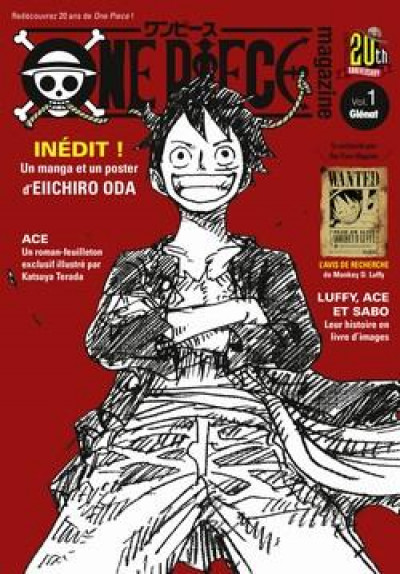 Couverture One piece magazine tome 1