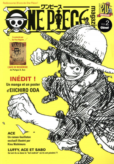 Couverture One piece magazine tome 2