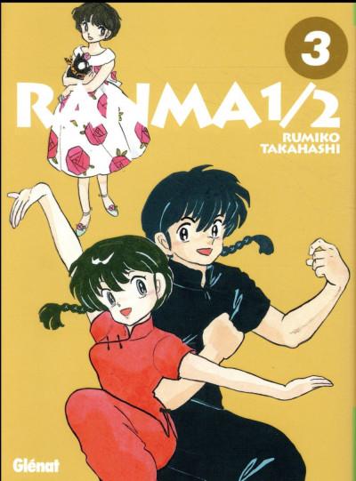 Couverture Ranma 1/2 - édition originale tome 3