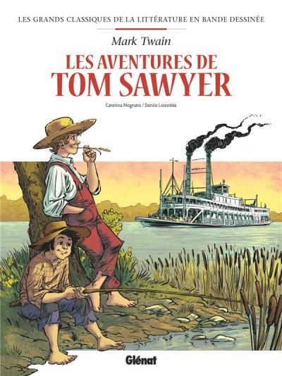 Couverture Tom Sawyer en BD