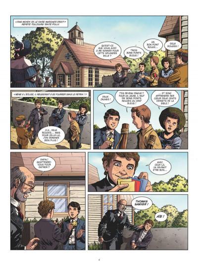 Page 4 Tom Sawyer en BD