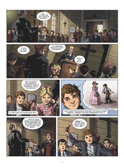 Page 5 Tom Sawyer en BD