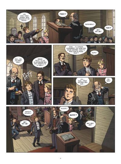 Page 6 Tom Sawyer en BD