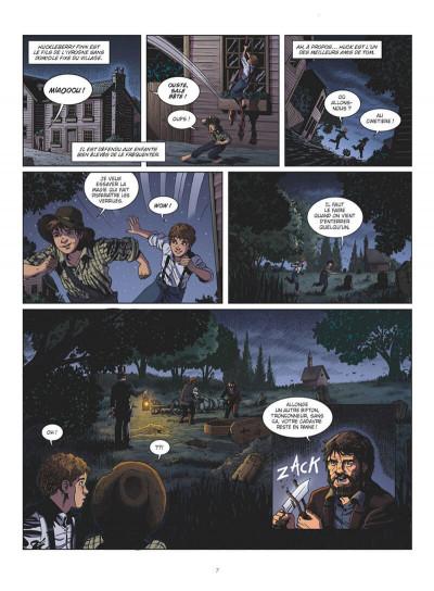 Page 7 Tom Sawyer en BD