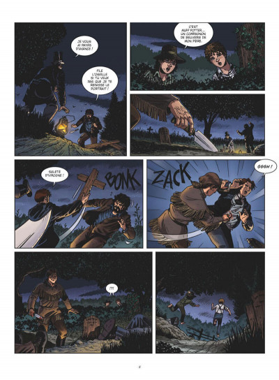 Page 8 Tom Sawyer en BD