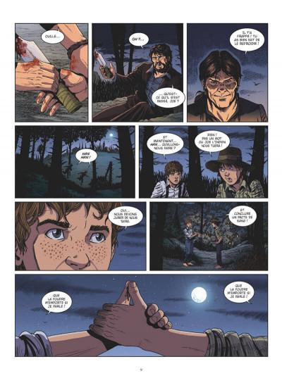 Page 9 Tom Sawyer en BD