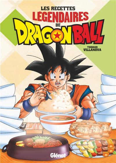 Couverture Les recettes légendaires de Dragon Ball