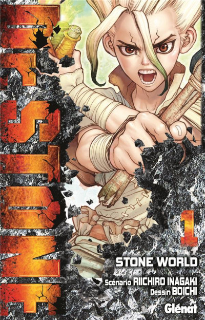 Couverture Dr. Stone tome 1