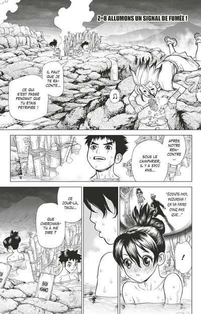 Page 6 Dr. Stone tome 2