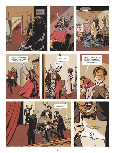 Page 8 Beauté noire et le groupe prospero tome 2