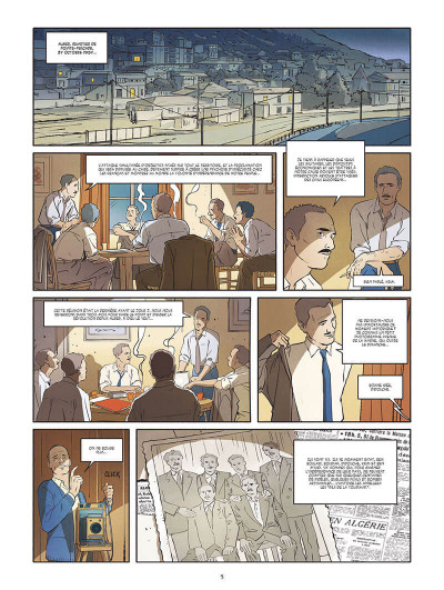Page 2 Algérie - une guerre française tome 1