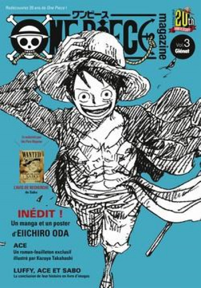 Couverture One piece magazine tome 3