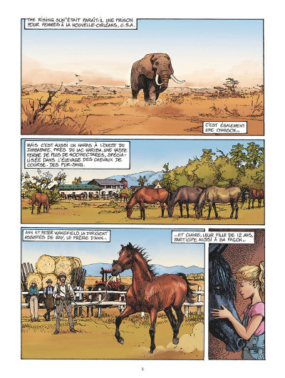 Page 1 Pur-sang tome 1