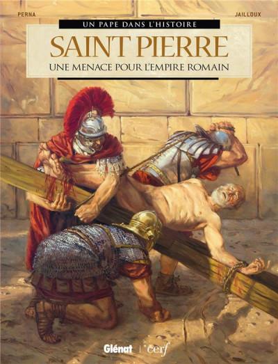 Couverture Saint Pierre - Une menace pour l'empire romain